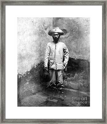 Miguel Malvar (1865-1911) Framed Print by Granger