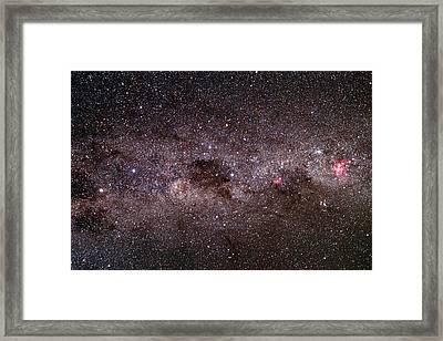 Milky Way Framed Print by Dr Fred Espenak