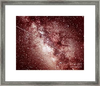 Milky Way In Sagittarius Framed Print by Science Source