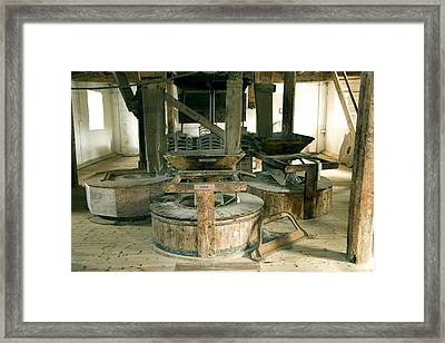 Millstones Framed Print by Sheila Terry