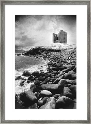 Minard Castle Framed Print by Simon Marsden