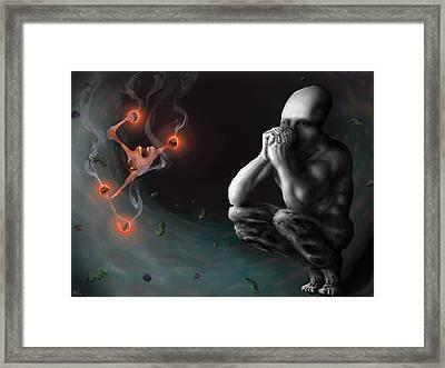 Mindset Framed Print by Nicholas Vermes