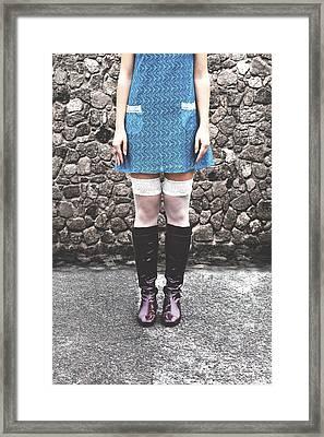 Minidress Framed Print by Joana Kruse