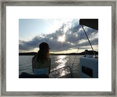 Minnesota Fishing Trip Framed Print by Brian  Maloney