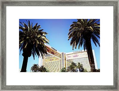 Mirage Framed Print by Leslie Leda