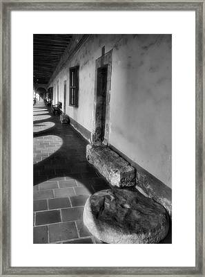 Mission Artifacts Framed Print by Steven Ainsworth