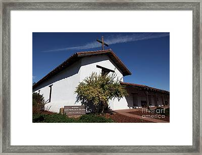 Mission Francisco Solano - Downtown Sonoma California - 5d19298 Framed Print by Wingsdomain Art and Photography