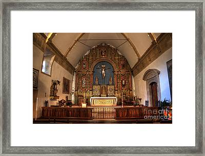 Mission San Carlos Borromeo De Carmelo  11 Framed Print by Bob Christopher
