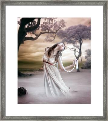 Mistborn Framed Print by Mary Hood