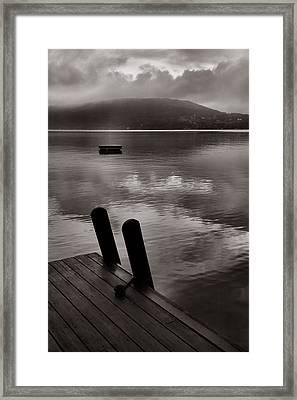 Misty Morning I Framed Print by Steven Ainsworth