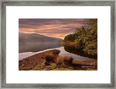 Misty Framed Print by Nigel Hatton