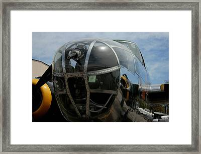 Mitchell B-25 Bomber Framed Print by Christopher Kirby