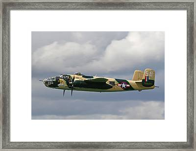 Mitchell B25 Russels Raiders Framed Print by Ken Brannen