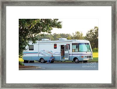 Mobile Home Framed Print by Renee Trenholm