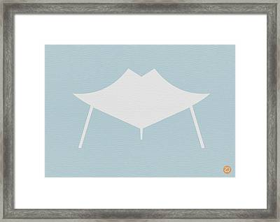 Modern Chair Framed Print by Naxart Studio