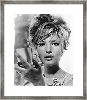 Modesty Blaise, Monica Vitti, 1966 Framed Print by Everett