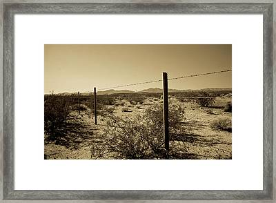 The Mojave Desert   Framed Print by Gilbert Artiaga