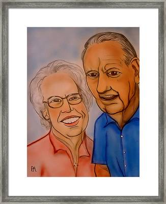 Mom And Dad Framed Print by Pete Maier