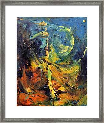 Momentum  Framed Print by Marina R Burch