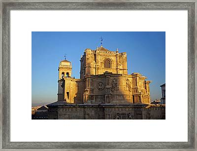 Monasterio De San Jeronimo Framed Print by Rod Jones