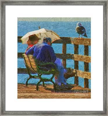 Monet Moment Framed Print by Tom Griffithe