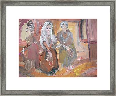 Money For Old Rope Framed Print by Judith Desrosiers