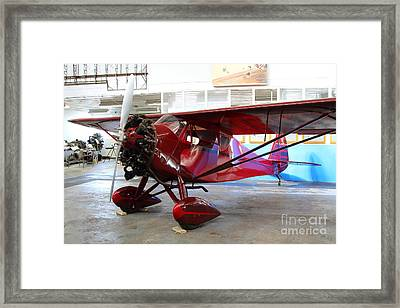 Monocoupe 110 . 7d11149 Framed Print by Wingsdomain Art and Photography