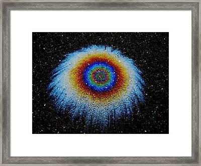 Monocular Vision Framed Print by Samuel Sheats