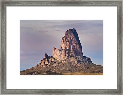 Monolith Framed Print by Mike Hendren