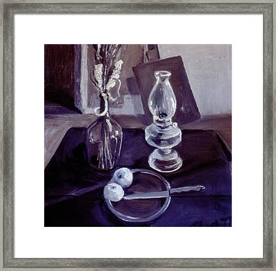 Monotone Still Life 1977 Framed Print by Nancy Griswold