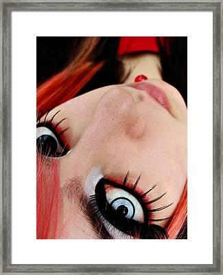 Monster Framed Print by Kalie Hoodhood
