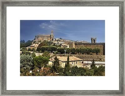 Montalcino Framed Print by Joana Kruse