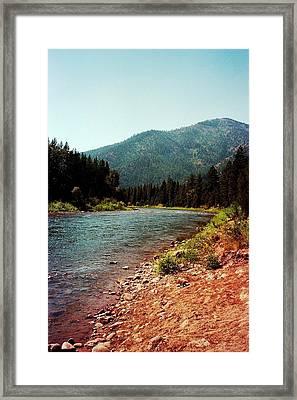 Montana Framed Print by Gary Smith