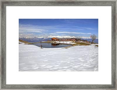 Monte Tamaro - Alpe Foppa - Ticino - Switzerland Framed Print by Joana Kruse