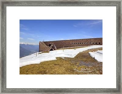 Monte Tamaro Framed Print by Joana Kruse