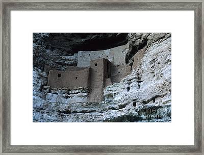 Montezumas Castle Framed Print by Bob Christopher
