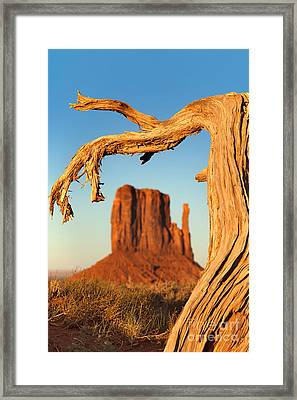 Monument Valley Framed Print by Jane Rix