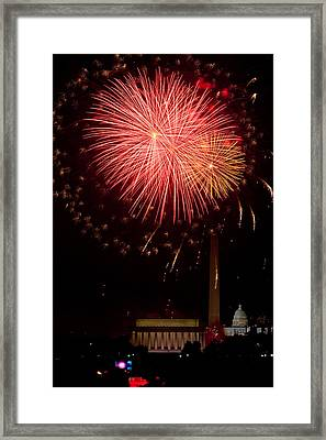 Monumental Celebration Framed Print by David Hahn