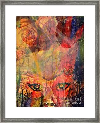 Moods In A Period Framed Print by Fania Simon