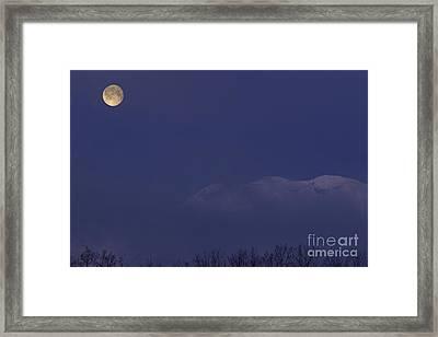 Moon At Dawn Framed Print by Yuichi Takasaka