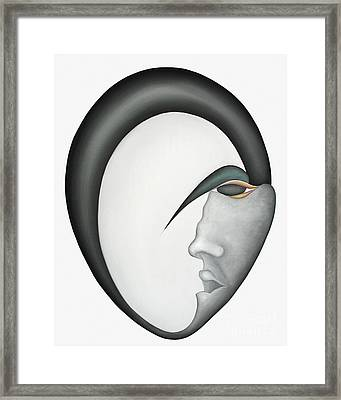 Moon Brother Framed Print by Joanna Pregon