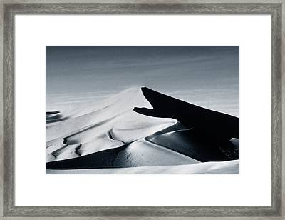 Moon Dune Framed Print by Tim Booth
