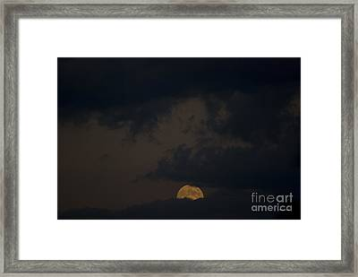 Moon Rising 03 Framed Print by Thomas Woolworth