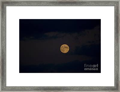 Moon Rising 05 Framed Print by Thomas Woolworth