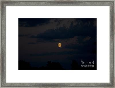 Moon Rising 06 Framed Print by Thomas Woolworth