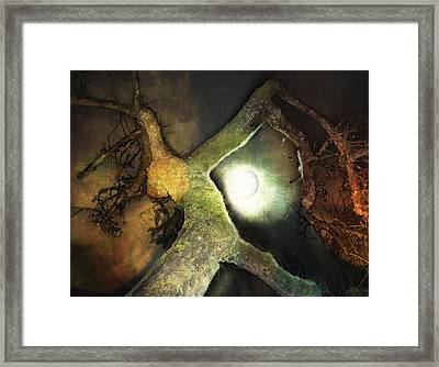 Moon Song  Framed Print by Janet Kearns