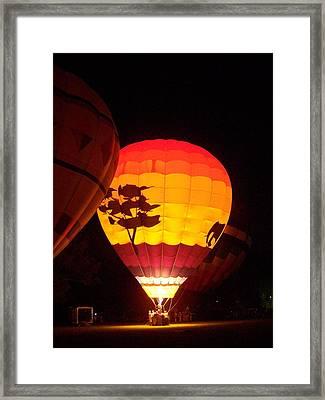 Moonglow Framed Print by Deborah Austin
