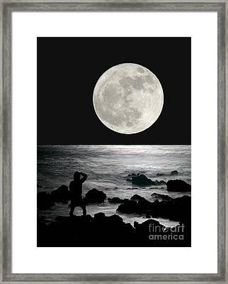 Moonrise Framed Print by Paul Topp