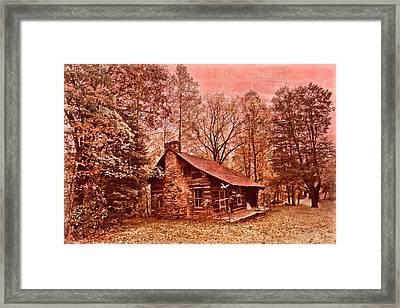 Moonshine Framed Print by Debra and Dave Vanderlaan