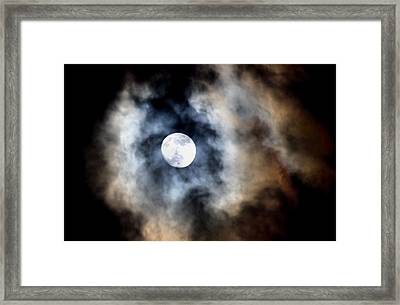 Moonshine Framed Print by Karen M Scovill